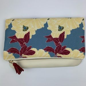 Rachel Pally Reversible Fold Floral Clutch B11